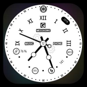 roman classic clock